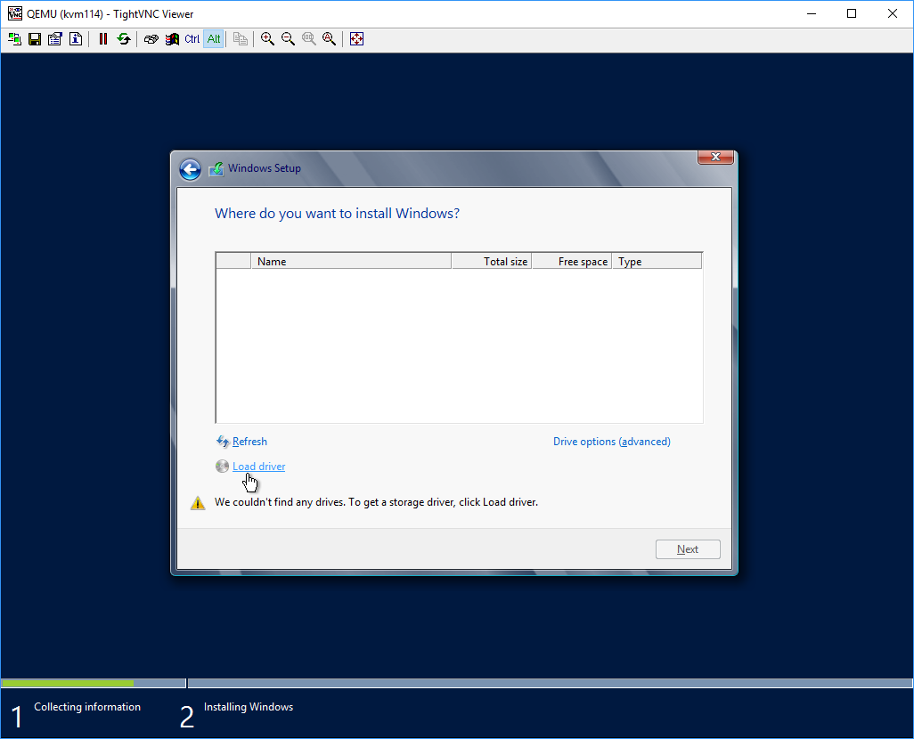 HOW TO: Installing Windows on a KVM VPS - Knowledgebase